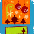 Christmas card — Stockvector #1466110