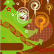 Christmas card - Image vectorielle