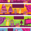Christmas horizontal banners - Image vectorielle