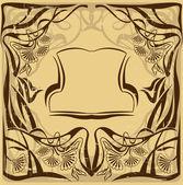 Art nouveau-stijl — Vector de stock