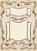 Vintage design elements — Stockvector