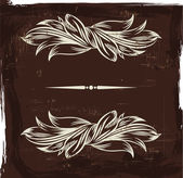 старинная этикетка — Cтоковый вектор