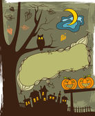 Halloween background — Stockvector