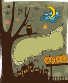 Halloween fond — Vecteur