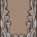Art nouveau frame — Stock Vector #1474035