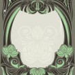 Art nouveau frame — Stock Vector #1474080