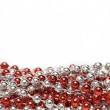 Red and Silvery Decoration Beads — Stock Photo #1467398