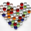 Royalty-Free Stock Photo: Glass Heart