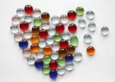 Coração de vidro — Foto Stock