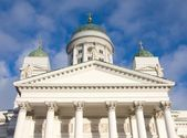Helsinki Cathedral in the Blue Sky — Stock Photo