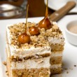 Stock Photo: Cubic Sandwiched Cake