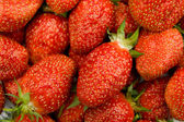 Sweet Red Strawberry Background — Stock Photo