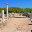 Ruins of ancient greek temple — Stock Photo