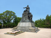 Monument to admiral Kornilov — Stock Photo