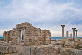 Ruins of an Ancient Greek temple — Stock Photo