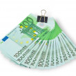 Banknotes of Euro — Stock Photo