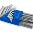 Hex key set — Stock Photo