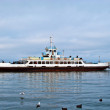Stock Photo: Old marine ferry