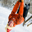 Stock Photo: Winter entertainments