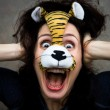 Stock Photo: Funny tiger