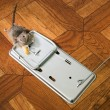 Royalty-Free Stock Photo: The mouse in a mousetrap