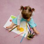 Kinderzeichnung — Stockfoto