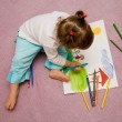 Stock Photo: Children's drawing