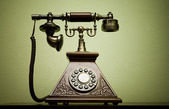 Old phone — Stockfoto