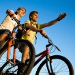 Bicycler — Stock Photo