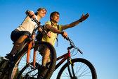 Bicycler — Stok fotoğraf