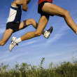 Flight of runners — Stock Photo #2343985