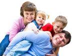 Siamo la famiglia felice — Foto Stock