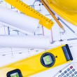 Stock Photo: Engineering Drawings