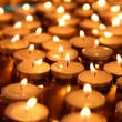 Candle group - backgrounds - Stock Photo