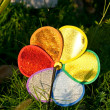 Stock Photo: Colored pinwheel