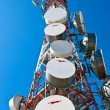 Comunication antenna - Stock Photo