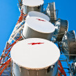 Comunication antenna — Stock Photo