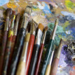 Stock Photo: Paintbrushes