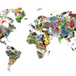 Stock Photo: World map