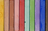 Colored chalks — Stock Photo