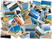Beach Postcard — Stock Photo