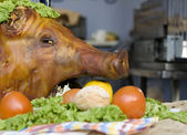 Head of pork — Stock Photo