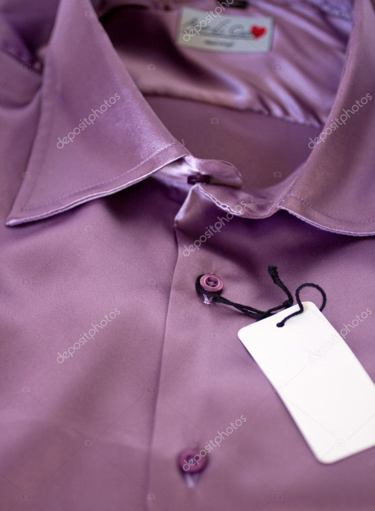 Violet  classical  shirt — Stock Photo #1454537