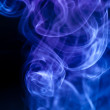 Abstract blue smoke — Stock Photo #1450279