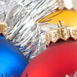 Colorful christmas balls — Stok Fotoğraf #1450381