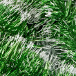 Green garland background — Zdjęcie stockowe #1450442