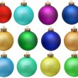 Collection christmas ornament . — Stock Photo #1450914