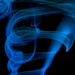 Royalty-Free Stock Photo: Bstract blue smoke
