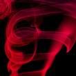 Stock Photo: Abstract red smoke .