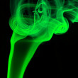 Abstract green smoke - Stock Photo